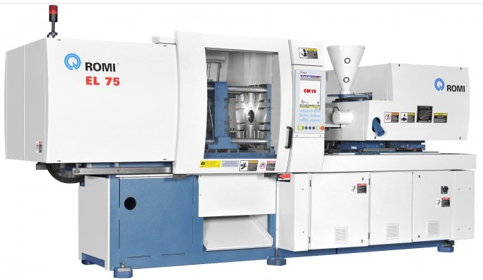 Romi EL 75 Injection Moulding Machine – Romi use Burgis and Bu
